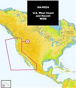 C-Map NA-M024 MAX U.S. West Coast and Hawaii