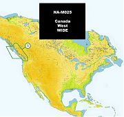 C-Map NA-M025 MAX Canada West