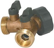 Camco 20123 Brass Y Valve