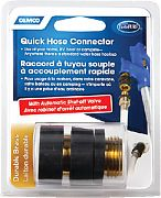 Camco 20135 Brass Quick Connect with Auth