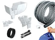 Camco 42010 RV Awning Gutter Kit (e/F)