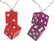 Camco 42660 Party Lights Fuzzy Dice