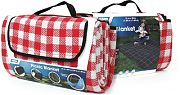 Camco 42801 Picnic Blanket Red/Wht 51X59