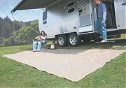 Camco 42811 Awning Leisure Mat 7´X15´ Bwn