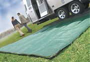 Camco 42820 Awning Leisure Mat 9´X12´ Grn