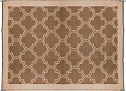 Camco 42877 Outdoor Mat 6´X9´ Brown/Tan