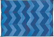Camco 42878 Outdoor Mat 6´X9´ Blue/Blue