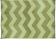 Camco 42879 Outdoor Mat 6´X9´ Green/Green