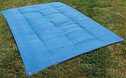 Camco 42881 Blue Awning Mat 6 Ft X 9 Ft