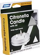 Camco 51023 Citronella Candle with Lid