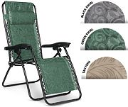 Camco 51810 0 Gravity Reg Black Swrl Chair