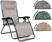 Camco 51830 0 Gravity Lrg Black Swrl Chair