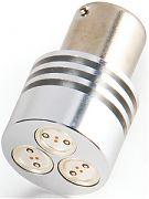 Camco 54618 Bulb LED BA15S Amber, 50 Lm