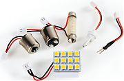 Camco 54642 LED Multibase KIT16 LED 300 Lm