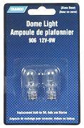 Camco 54731 Light Bulb Dome 12 Volt 12W 2/CARD