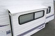 "Carefree LH0730042 Slideout Cover 73"" Wht with Rail"