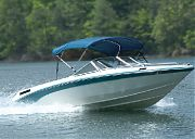 Carver 405A04 3 Bow 85 90IN Pac Blue Cnvas