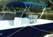 Carver 604WV 3 Bow 79 84IN Wh Vnyl Cnvas