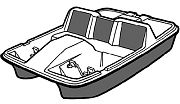 Carver 74305P 5 Seater Paddle Boat Cover