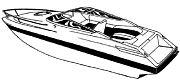 Carver 77723P Over V Hull I/O Cruiser 22´POL
