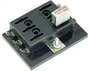 Cole Hersee 46377-6-BP Fuse Block 6P