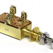Cole Hersee M531 Push-Pull Switch, On-On-Off SPDT