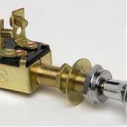 Cole Hersee M628 SPST Push-Pull Switch,On-Off SPST