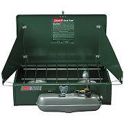 Coleman Stove, 2-Burner Standard Compact, Dual Fuel