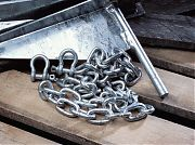 "Danforth 95131 3/16"" X 4´ Galvanized Chain"