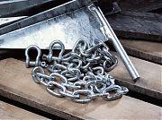 "Danforth 95131 3/16"" X 4´ Galvanized Chain"