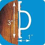 "Dock Edge ""D"" Profile 16´"