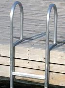 Dock Edge 2014F Dock Ladder 4 Step Welded Aluminum