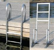 Dock Edge 2024F Dock Ladder 4 Step Flip Up