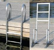 Dock Edge 2025F Dock Ladder 5 Step Flip Up