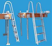 Dock Edge 2053F Dock Ladder 3 Step Stand Off