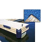 "Dock Edge 70809F Dock Bumper, 34"", EVA, Navy Blue"
