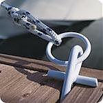 Dock Edge 91107F PortaCleat White