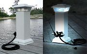 Dock Edge 96250F Solar Cleat Light