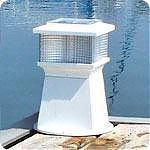 Dock Edge 96264F Solar Piling Light