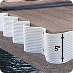 Dock Edge Dock Edging Flexguard 25´ White
