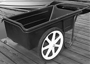 "Dock Pro Dock Cart Weight Capacity:300 lbs. Wheel Size: 20"" Wheel Type :Inflatable"