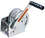 Dutton-Lainson 15191 DL1100AS Winch with Strap, Plated