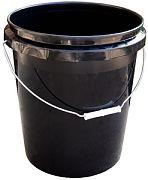 Encore Marine 57640 Black Plastic Industrial Pail 5 Gallon
