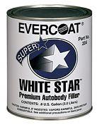 Evercoat 100205 White Star Body Filler Quart