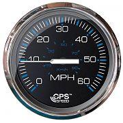 Faria Chesapeake Black SS 60 MPH GPS Speedometer