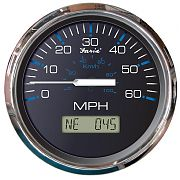Faria Chesapeake Black SS 60 MPH GPS Speedometer with Display