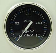 Faria Chesapeake Black SS Tach 4000 Diesel, Mag Pickup