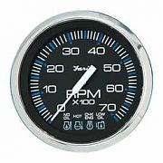 Faria Chesapeake Black SS Tach/Sys Check 7000 RPM