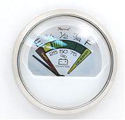 Faria Chesapeake White SS Battery Condition Indicator 12 Vdc
