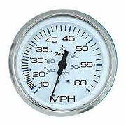 Faria Chesapeake White SS Speedo, 60  MPH